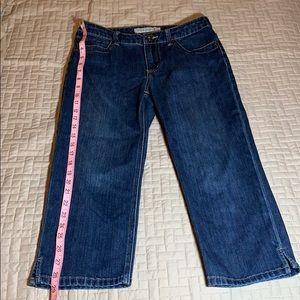 Chico platinum denim size 00 jeans